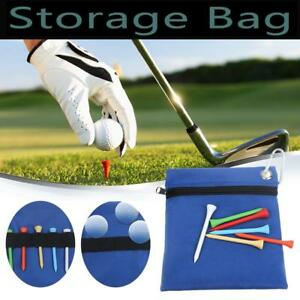 Zippered-Golf-Tee-Ball-Storage-Bag-Holder-with-Carabiner-Golfing-Accessories