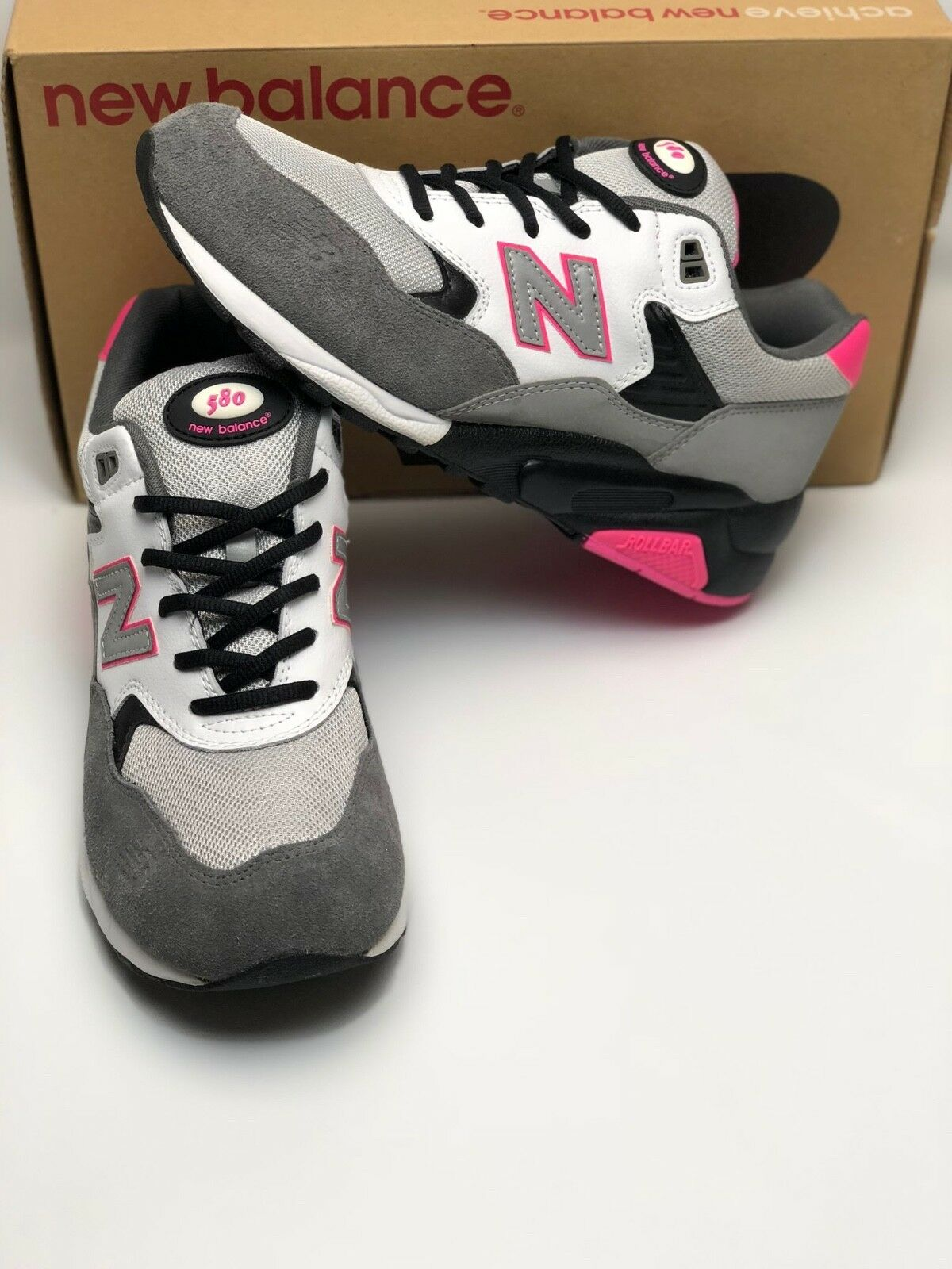 New Balance MT580 3M MT580HOT 580 Grey White Pink 2009 Size 10 Brand New In Box