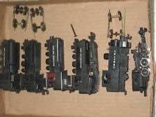 Vintage Mantua & Rivarossi HO scale 0-4-0 Steam Engine Switcher Lot of 5 Engines