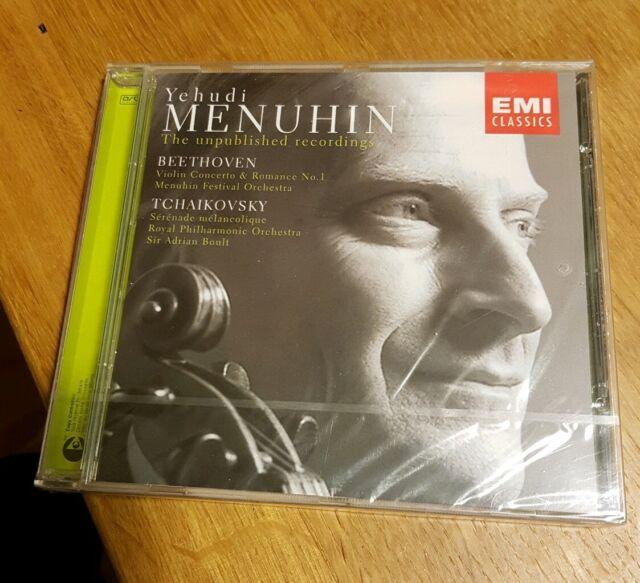 Y. Menuhin - Violinkonzert. Beethoven. Tchaikovsky. Neu. Original verpackt.