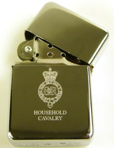 HOUSEHOLD CAVALRY CLASSIC HAND ENGRAVED LIGHTER