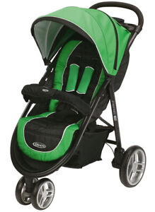 NEW-Graco-Aire3-Click-Connect-Stroller-Lightweight-Baby-Stroller-Fern-Green