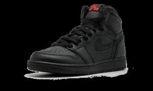 Nike-Air-Jordan-Retro-1-High-OG-575441-022-Black-University-Red-DS-Youth-NEW