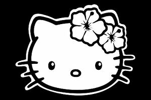 hello kitty head face window sticker vinyl decal tropical hibiscus Hello Kitty Costume image is loading hello kitty head face window sticker vinyl decal