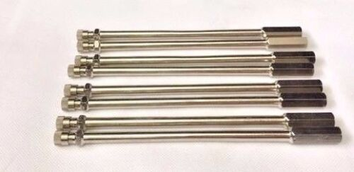 Schrader droite rigide-nickelée Extension de vanne 152 mm UL ** Qté 8