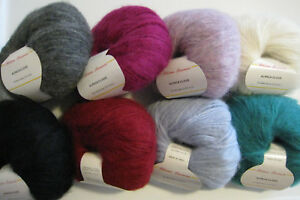 Filatura-Lanarota-ALPACA-CLOUD-Yarn-Baby-Alpaca-Worsted-Color-Choice