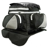 Magnetic Motorcycle Tank Bag With Map Window On Top Heavy Duty Magnets