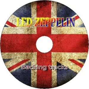 LED-ZEPPELIN-GUITAR-BACKING-TRACKS-CD-BEST-GREATEST-HITS-MUSIC-PLAY-ALONG-JAM