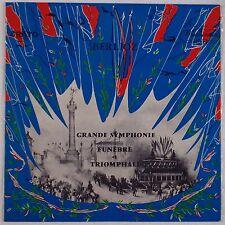 BERLIOZ: Grand Symphony WESTMINSTER / ERATO Dondeyne XWN 18865 Vinyl LP NM