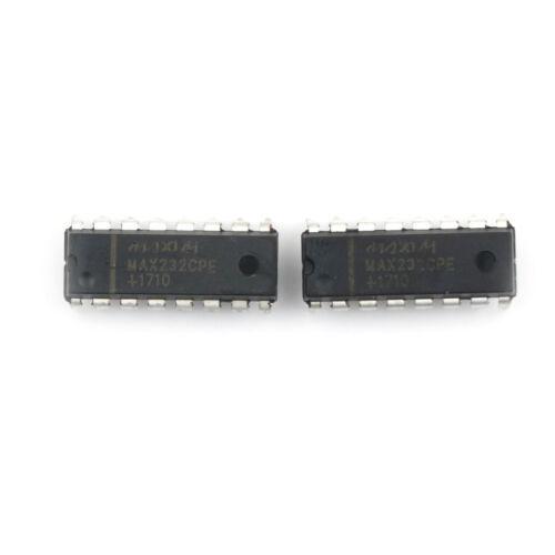 10pcs MAX232 MAX232CPE MAX232EPE DIP16 RS-232 MAXIM CHIP IC  H/&P