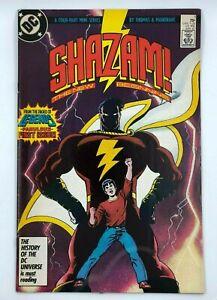 SHAZAM-1-1987-DC-THE-NEW-BEGINNING-CAPTAIN-MARVEL-ROY-THOMAS-BRONZE-AGE