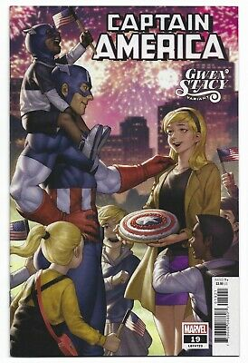CAPTAIN AMERICA #19 GWEN STACY VARIANT