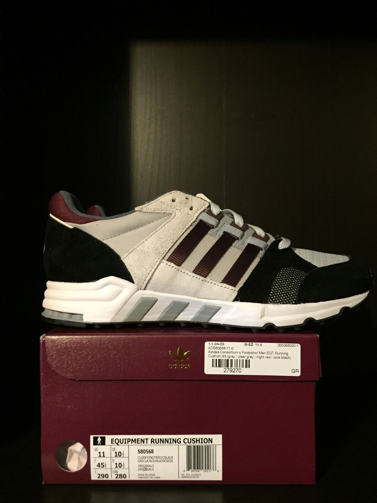 Footpatrol x Adidas Consortium EQT - US Size 11