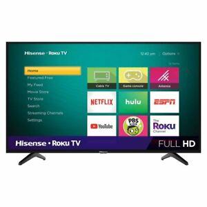 "NEW Hisense 40"" Class FHD (1080P) Roku Smart LED TV (40H4030F1) Sale - Free Ship"