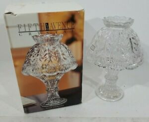 FIFTH-AVENUE-CRYSTAL-24-LEAD-CRYSTAL-CANDLE-LAMP-034-FAIRFAX-034-9-3-4-034-GERMANY