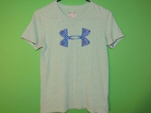 Under-Armour-Womens-Size-S-Small-Semi-Fitted-Crewneck-T-Shirt