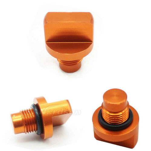 Motorcycle CNC Aluminum Engine Magnetic Oil Drain Plug For KTM DUKE 125 200 390