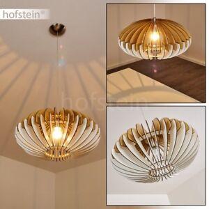 Vintage Pendel Leuchte Hänge Lampe Holz//schwarz Wohn Ess Schlaf Raum Beleuchtung