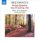 Beethoven: String Quintets, Opp. 29 & 104 (CD, Jun-2010, Naxos (Distributor))