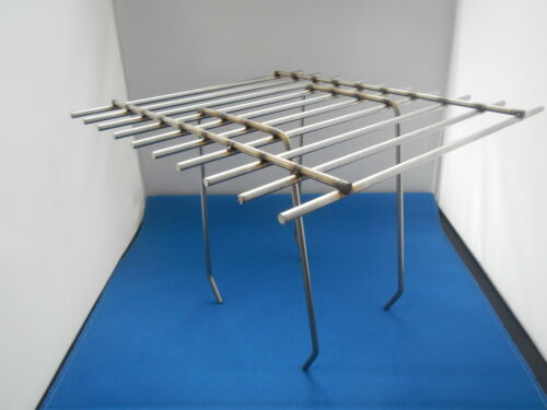 Corneilles Grille de protection//Dohlen grille en acier inoxydable 330 x 330 mm