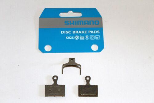 Plaquettes Frein VTT Disque Origine Shimano Résine K02S BR-RS805