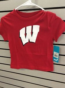7fbcc07ff Image is loading Wisconsin-Badgers-Boys-Tee-Small