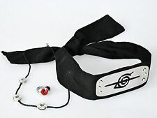 Naruto Uchiha Itachi Cosplay Head Band+ring+necklace Cosplay Accessories Set