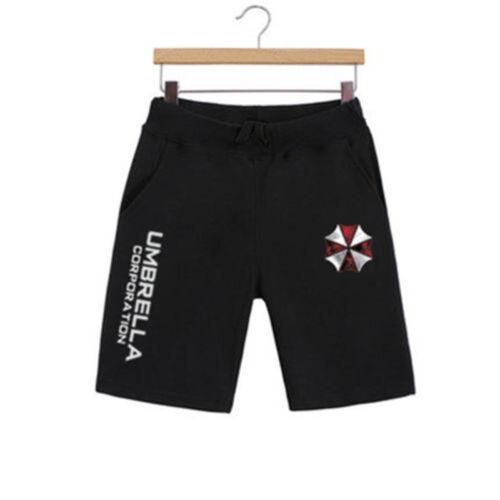 Resident Evil Umbrella Corporation Men/'s Beach Casual Shorts Short Pants