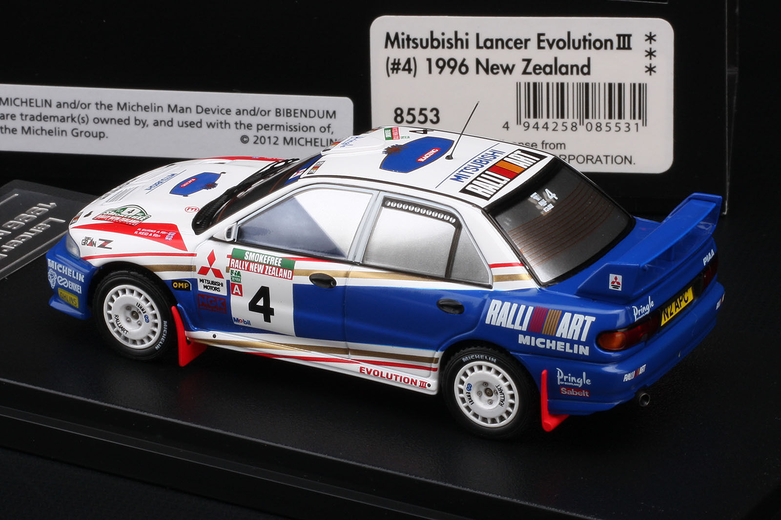 Winner - Lancer Evo III 1996 New Zealand Richard Burns -- HPI  8553 1 43