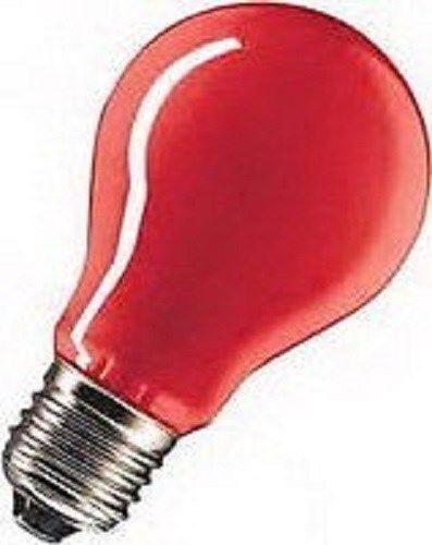 Ampoules e27 15 W ROUGE forme normale F Fête éclairage Type SH 40240