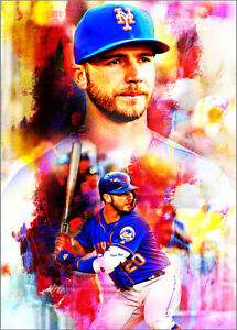 2020-Pete-Alonso-New-York-Mets-8-25-Art-ACEO-Sketch-Print-Card-By-Q