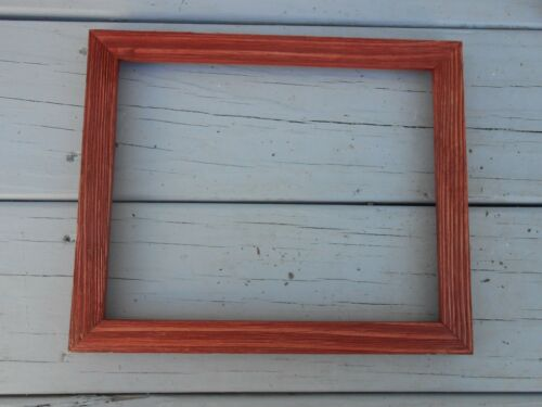 Thin Colorful Barn Wood Picture Frames Handmade Distressed Many Sizes//Colors