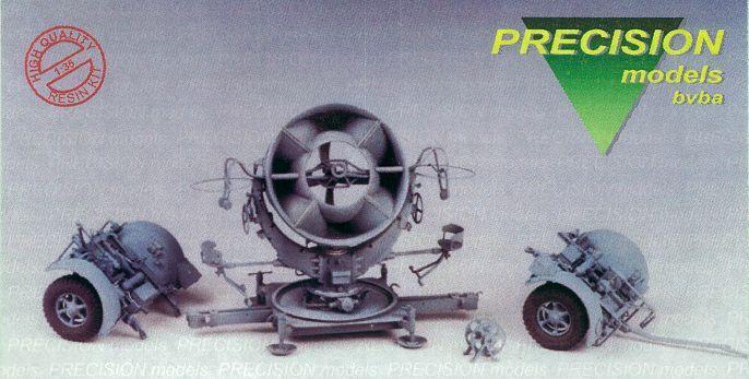 PRECISION MODELS 35th R.R.H. Listening device  Horchgeraet  FULL - RESIN