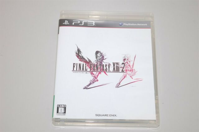 Final Fantasy XIII-2 Japan Sony Playstation 3 PS3 game