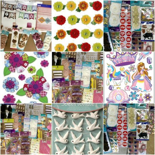 Jolee/'s Huge Lot Of 40 Packages Scrap-Booking Stickers Forever in Time Sticko