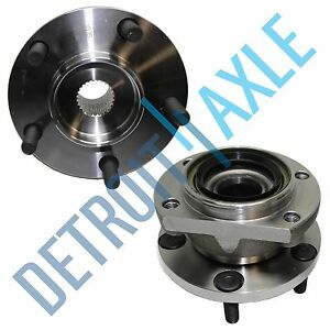 Details About 2 Rear Wheel Hub And Bearing Embly Grand Caravan Voyager Town Country Awd