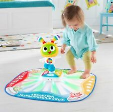 Interactive Toddler Toy Baby Learning Fisher Price Music Dance Mat Bright Beats