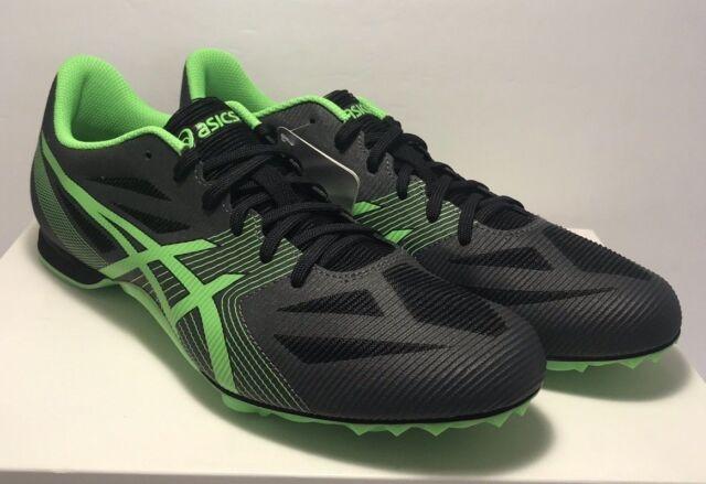 2f278bb95f Asics Mens Size 10 Hyper MD 6 Track & Field Shoes Black Green | eBay