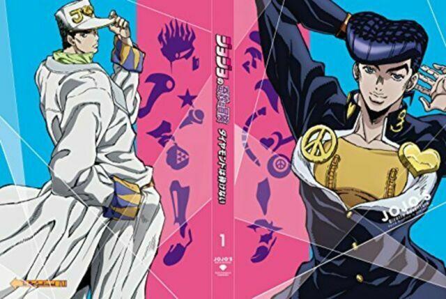 Jojos Bizarre Adventure Diamond Is Unbreakable Vol 1 Limited Edition Blu Ray T For Sale Online Ebay