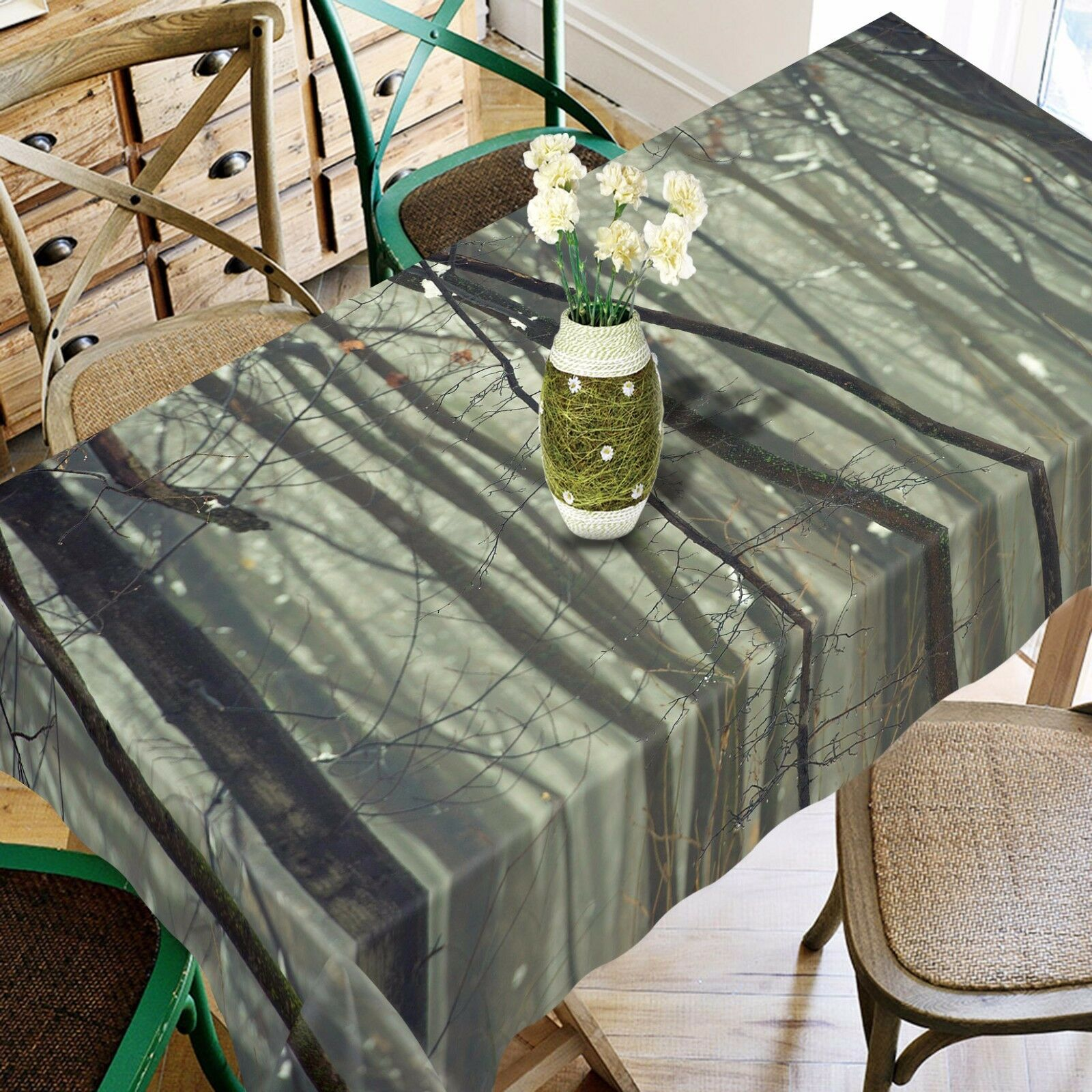 3D  Woods 4578 Tablecloth Table Cover Cloth Birthday Party Event AJ WALLPAPER AU
