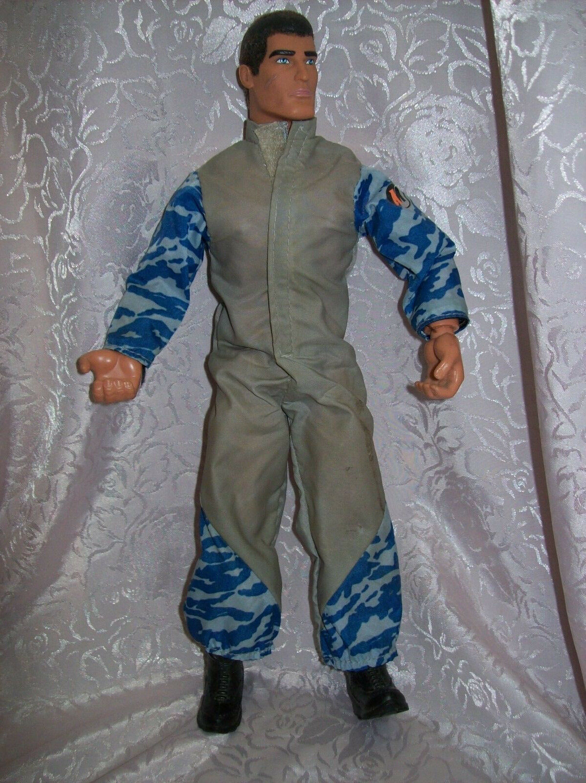 Wirkung MAN With Camo Jump Suit Harness And Parachute