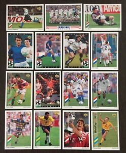 Variations-Auction-1993-UD-WORLD-CUP-USA-PREVIEW-SINGLES-BUY-5-free-shipping