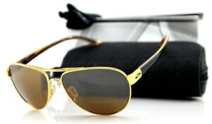 Image is loading New-OAKLEY-DISCLOSURE-Polished-Gold-Brown-Tungsten-Iridium- 1b9ea05592