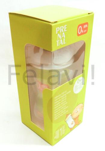 Flasche 330 ml inkl Sauger €2,00//Stück Babyfläschchen Prenatal 5er SET F183
