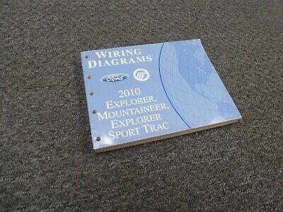2010 Mercury Mountaineer Electrical Wiring Diagrams Manual ...