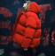 Womens-Red-Puffer-Oversized-Short-Coat-Hooded-Down-Cotton-Coat-Thicken-Warm-New thumbnail 3