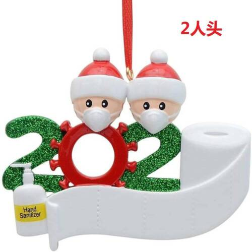 2020 Marry Christmas Hanging Ornaments Family Personalized Ornament Party Decor