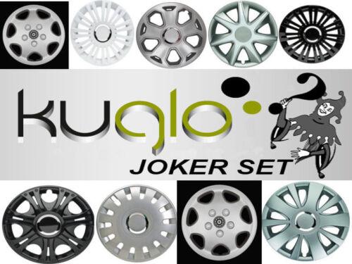 unbedingt anschauen KUGLO Radzierblenden Joker Set 15 ZOLL Neuware!!