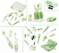 Babypflegeset Deluxe 12-teilig, Zahnpflegeset, Thermometerstreifen