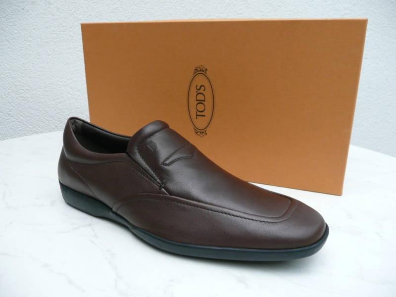 Tod´s Loafer Slipper Schuhe Mokassins neu Gr 6,5 40,5 dunkelbraun neu Mokassins UVP 280 acf741